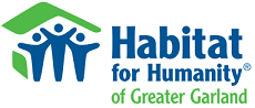 Garland Area Habitat For Humanity Logo