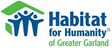 Garland Area Habitat For Humanity Logo